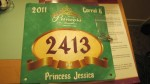 "I chose Ariel as my favorite princess. My bib said ""Princess Jessica"" I could DEFINITELY get used to that! ;)"