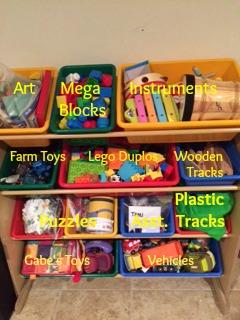 Toy bin